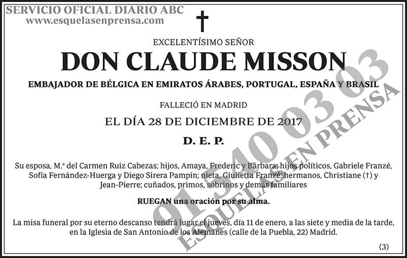 Claude Misson